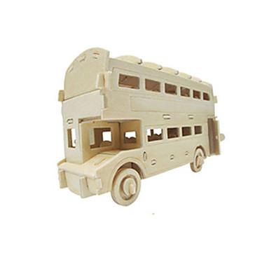 voordelige 3D-puzzels-Speelgoedauto's 3D-puzzels Legpuzzel Vliegtuig Automatisch Bus DHZ Puinen Klassiek Kinderen Unisex Jongens Speeltjes Geschenk