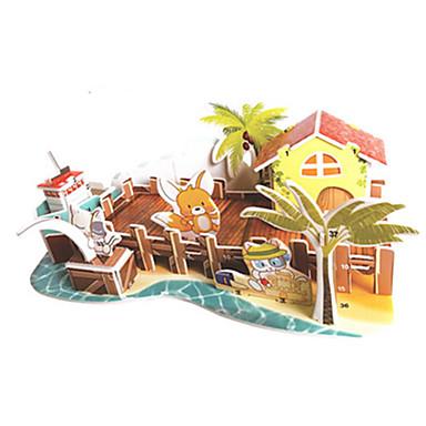 voordelige 3D-puzzels-3D-puzzels Legpuzzel Modelbouwsets Beroemd gebouw DHZ Hard Kaart Paper Klassiek Anime Cartoon Kinderen Unisex Speeltjes Geschenk