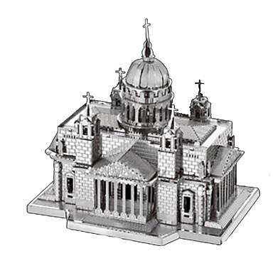 levne 3D puzzle-3D puzzle Puzzle Kovové puzzle Věž Udělej si sám Kovový Nerez Chrome Klasické Dětské Dospělé Unisex Chlapecké Dívčí Hračky Dárek