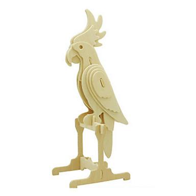 voordelige 3D-puzzels-3D-puzzels Legpuzzel Houten modellen Vogel Dinosaurus Vliegtuig DHZ Puinen Klassiek Kinderen Unisex Speeltjes Geschenk