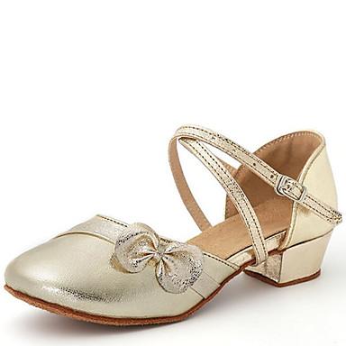 Modern cipők Bőrutánzat Szandál Csokor   Csat Kubai sarok Dance Shoes Arany    Ezüst   Otthoni 6003298 2019 –  22.99 37d1e1a1f8
