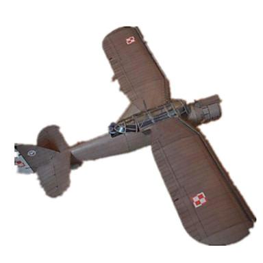 levne 3D puzzle-3D puzzle Papírové modely Modele Průzkumné letadlo Udělej si sám lepenkový papír Klasické Dětské Unisex Hračky Dárek