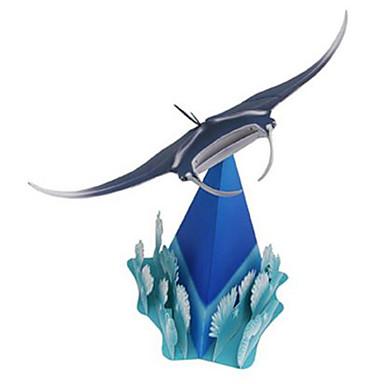 levne 3D puzzle-3D puzzle Papírové modely Modele Ryby Duch Zvířata Udělej si sám lepenkový papír Klasické Dětské Unisex Hračky Dárek