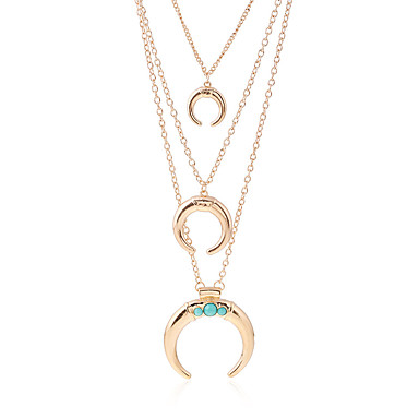 ad622cee0ed Women's Shape Dangling Style Pendant Tassel Choker Necklace Pendant Necklace  Statement Necklace Metal Alloy Resin Choker Necklace Pendant 6036412 2019 –  .