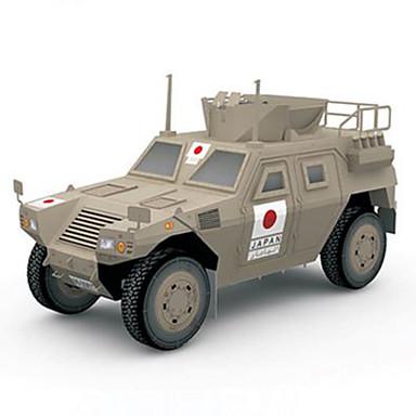 levne 3D puzzle-3D puzzle Papírové modely Vozík lepenkový papír Dětské Unisex Hračky Dárek