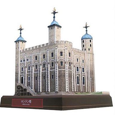 voordelige 3D-puzzels-3D-puzzels Bouwplaat Toren Beroemd gebouw DHZ Hard Kaart Paper Kinderen Unisex Geschenk