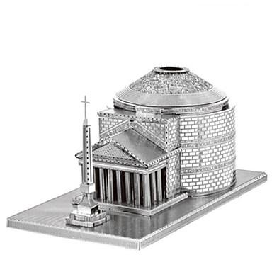 levne 3D puzzle-3D puzzle Puzzle Kovové puzzle Věž Udělej si sám Kovový Nerez Chrome Klasické Dětské Dospělé Unisex Hračky Dárek