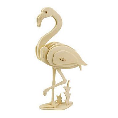 levne 3D puzzle-3D puzzle Puzzle Dřevěný model Ptáček Dinosaurus Letadlo Udělej si sám Dřevěný Klasické Dětské Unisex Hračky Dárek
