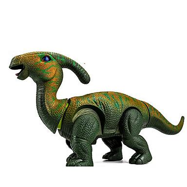 preiswerte Dinosaurier-Figuren-LED - Beleuchtung Bausteine Modellbausätze Tyrannosaurus Dinosaurier Tiere Walking Elektrisch Kunststoff Kinder Jungen Spielzeuge Geschenk / Große Größe
