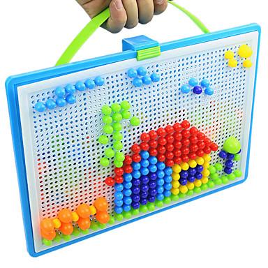 levne Kreslení hračky-3D puzzle Puzzle Mozaikové sady Vzdělávací hračka Odstraňuje stres Novinka Kolo Houba Korálky 296pcs Unisex Dárek