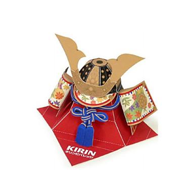 levne 3D puzzle-3D puzzle Papírové modely Modele kupole Bojovník Udělej si sám Nábytek Klasické Unisex Hračky Dárek