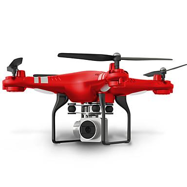 RC Ρομποτάκι SHR / C HR SH5 4 Kανάλια 6 άξονα 2,4 G Με κάμερα HD 2.0MP 720P Ελικόπτερο RC με τέσσερις έλικες FPV / Φώτα LED / Επιστροφή με ένα kουμπί Ελικόπτερο RC με T / Λειτουργία άμεσου ελέγχου