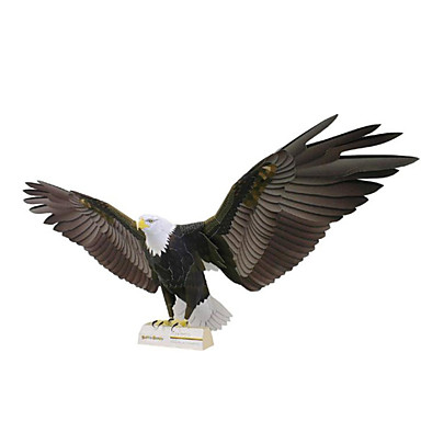 levne 3D puzzle-3D puzzle Papírové modely Modele Eagle Udělej si sám Simulace lepenkový papír Klasické Dětské Unisex Chlapecké Hračky Dárek