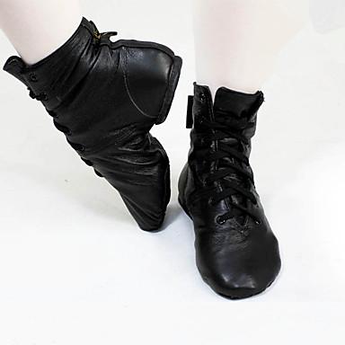 be1fb7c2ee134 Women's Synthetics Jazz Shoes Flat / Boots Flat Heel Customizable Black /  Practice / EU39 #06013559