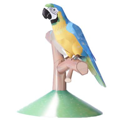 voordelige 3D-puzzels-3D-puzzels Bouwplaat Modelbouwsets Paard Parrot Dieren DHZ Simulatie Hard Kaart Paper Klassiek Kinderen Unisex Jongens Speeltjes Geschenk