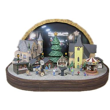 voordelige 3D-puzzels-3D-puzzels Bouwplaat Modelbouwsets Beroemd gebouw DHZ Hard Kaart Paper Klassiek Kinderen Unisex Speeltjes Geschenk