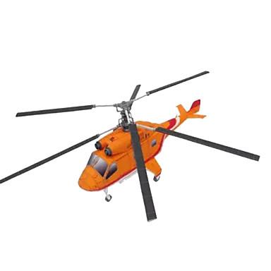 voordelige 3D-puzzels-3D-puzzels Papierkunst Vliegtuig Helikopter DHZ Simulatie Hard Kaart Paper Helikopter Kinderen Unisex Jongens Speeltjes Geschenk