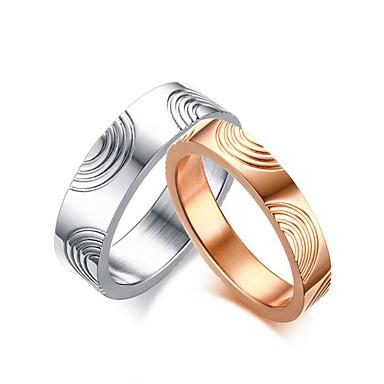 Pro Pary Rose Gold Snubni Prsteny Kulaty Elegantni Minimalisticky