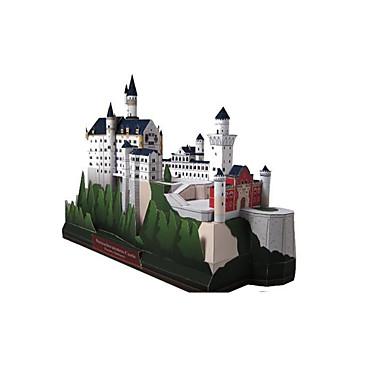 levne 3D puzzle-3D puzzle Papírové modely Modele Labuť Hrad Slavné stavby Udělej si sám Klasické Unisex Hračky Dárek