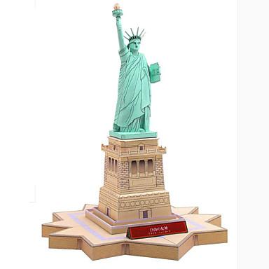 voordelige 3D-puzzels-3D-puzzels Bouwplaat Beroemd gebouw Architectuur Vrijheidsbeeld DHZ Hard Kaart Paper Kinderen Jongens Unisex Geschenk