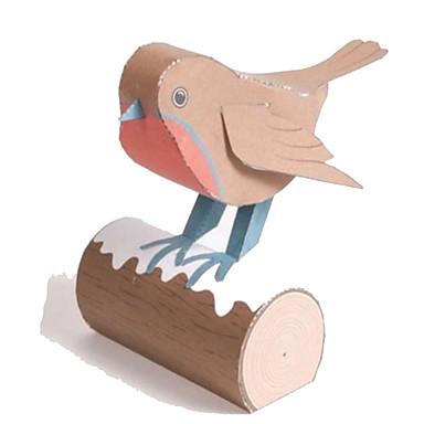 voordelige 3D-puzzels-3D-puzzels Bouwplaat Modelbouwsets Vogel Dieren DHZ Simulatie Klassiek Unisex Speeltjes Geschenk