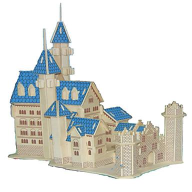 levne 3D puzzle-3D puzzle Puzzle Modele Hrad Slavné stavby Dům Udělej si sám Dřevěný Klasické Unisex Hračky Dárek