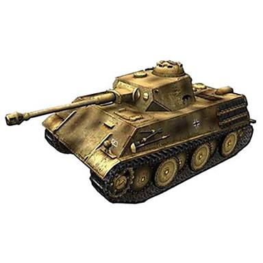 levne 3D puzzle-Autíčka 3D puzzle Papírové modely Tank Vozík lepenkový papír Unisex Hračky Dárek