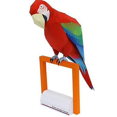 voordelige 3D-puzzels-3D-puzzels Bouwplaat Modelbouwsets Parrot Dieren DHZ Hard Kaart Paper Klassiek Kinderen Unisex Jongens Speeltjes Geschenk