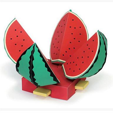 levne 3D puzzle-3D puzzle Papírové modely Modele Ovoce Fuchsiová Udělej si sám lepenkový papír Klasické Dětské Unisex Hračky Dárek