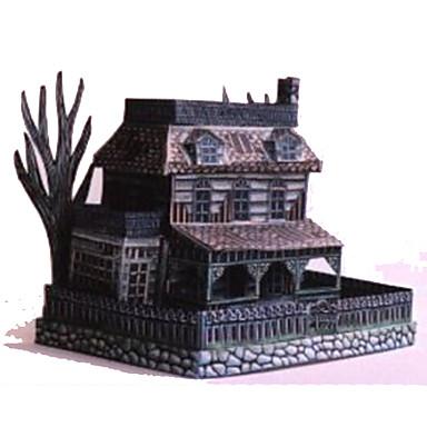 levne 3D puzzle-3D puzzle Papírové modely Modele Slavné stavby Duch Udělej si sám lepenkový papír Klasické Dětské Unisex Chlapecké Hračky Dárek
