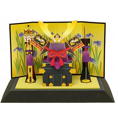 voordelige 3D-puzzels-3D-puzzels Papierkunst Krijger DHZ Inrichting artikelen Klassiek Unisex Speeltjes Geschenk