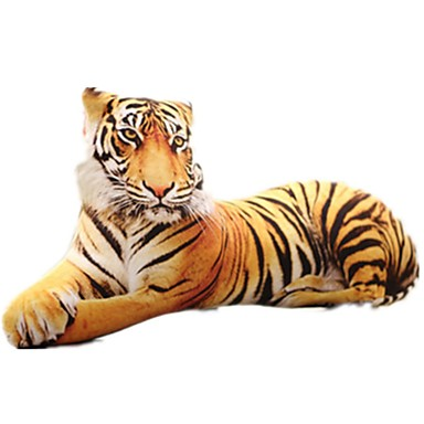 levne Pluszowe zwierzęta-Polštářek Polštáře Pluszowe zwierzęta Psi Tiger Zvířata Zábava Simulace Kid je Unisex Hračky Dárek