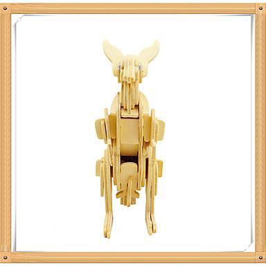 voordelige 3D-puzzels-3D-puzzels Legpuzzel Modelbouwsets Kangoeroe Dieren DHZ Puinen Kinderen Unisex Speeltjes Geschenk