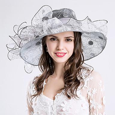 voordelige Hoeden-Helm-Bruiloft Speciale gelegenheden  Feest/Uitgaan Causaal Hoeden 1 Stuk