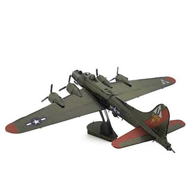 levne 3D puzzle-3D puzzle Puzzle Kovové puzzle Letadlo Udělej si sám Kovový Chrome Klasické Unisex Chlapecké Dívčí Hračky Dárek