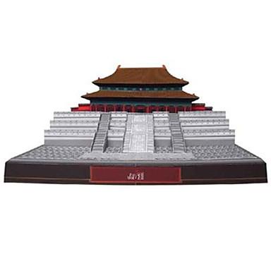 levne 3D puzzle-3D puzzle Papírové modely Slavné stavby Čínské stavby Zakázané město Udělej si sám lepenkový papír Čínský styl Dětské Unisex Hračky Dárek