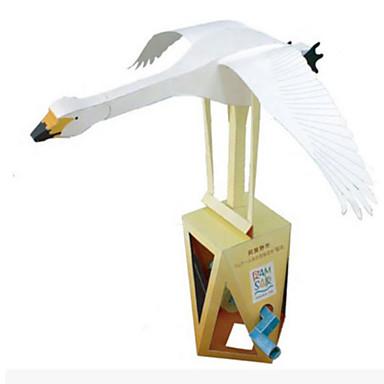 levne 3D puzzle-3D puzzle Papírové modely Modele Labuť Udělej si sám Simulace Klasické Unisex Hračky Dárek
