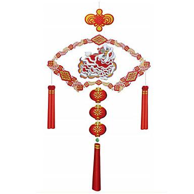 voordelige 3D-puzzels-3D-puzzels Papierkunst Leeuw DHZ Klassiek Chinese stijl Unisex Speeltjes Geschenk