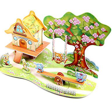 voordelige 3D-puzzels-3D-puzzels Legpuzzel Modelbouwsets Beroemd gebouw Schip DHZ Hard Kaart Paper Klassiek Anime Cartoon Kinderen Unisex Jongens Meisjes Speeltjes Geschenk