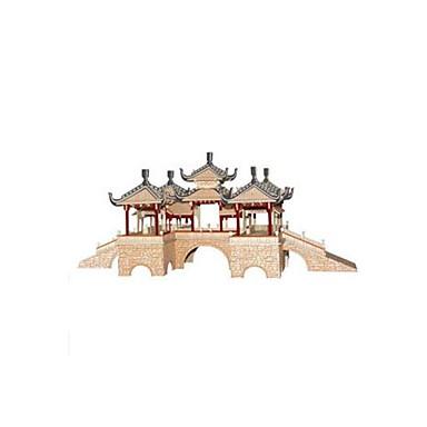 voordelige 3D-puzzels-3D-puzzels Legpuzzel Houten modellen Beroemd gebouw Chinese architectuur DHZ Puinen Chinese stijl Kinderen Unisex Speeltjes Geschenk