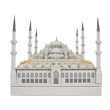 levne 3D puzzle-3D puzzle Papírové modely Slavné stavby Kostel Katedrála Udělej si sám lepenkový papír Dětské Unisex Hračky Dárek