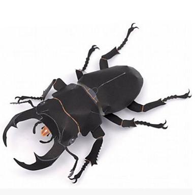 levne 3D puzzle-3D puzzle Papírové modely Modele Hmyz Beetle Udělej si sám Simulace lepenkový papír Klasické Dětské Unisex Chlapecké Hračky Dárek