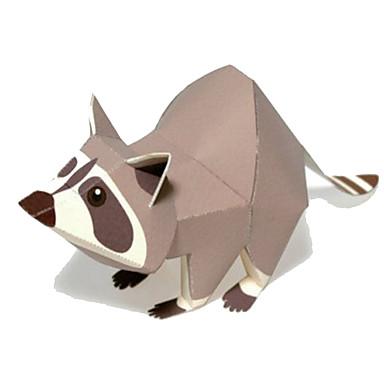 levne 3D puzzle-3D puzzle Papírové modely Modele Medvěd Zvířata Udělej si sám Klasické Animák Dětské Unisex Hračky Dárek