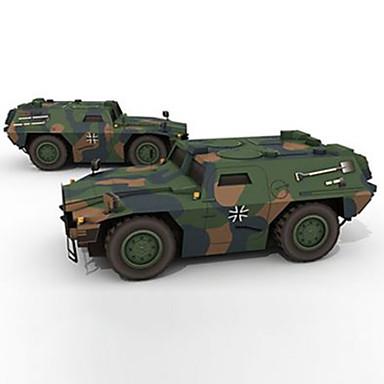 levne 3D puzzle-Autíčka 3D puzzle Papírové modely Kůň Vozík lepenkový papír Dětské Unisex Chlapecké Hračky Dárek