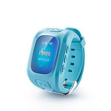 levne Dámské-Inteligentní hodinky Digitální Pryž Modrá / Stříbro / Růžová Digitální Modrá Růžová
