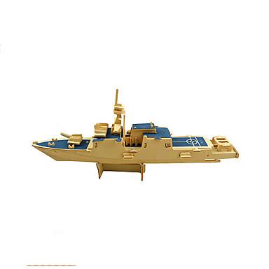 levne 3D puzzle-3D puzzle Puzzle Modele Válečná loď Letadlo Dřevěný Letadlo Dětské Unisex Chlapecké Hračky Dárek