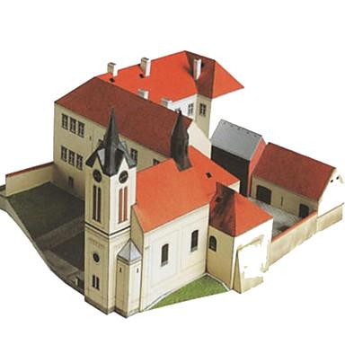 Puzzles 3d maquette en papier loisirs créatifs en papier kit de maquette bâtiment célèbre maison architecture a faire soi même papier de 6018282 2018 à