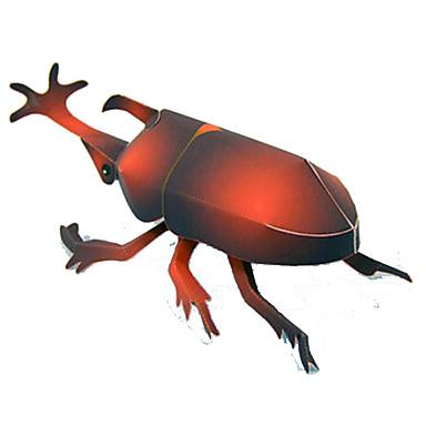 levne 3D puzzle-3D puzzle Papírové modely Modele Hmyz Beetle Udělej si sám Simulace Klasické Dospívající Hračky Dárek