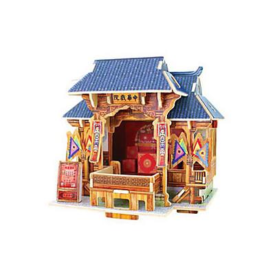 voordelige 3D-puzzels-Robotime 3D-puzzels Legpuzzel Modelbouwsets Beroemd gebouw Chinese architectuur DHZ Klassiek Kinderen Speeltjes Geschenk