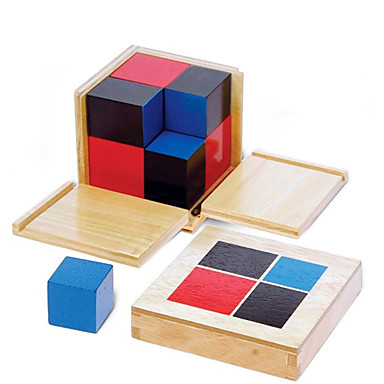 cheap Math Toys-Montessori Teaching Tool Building Blocks Educational Toy Square Education Kid's Toy Gift